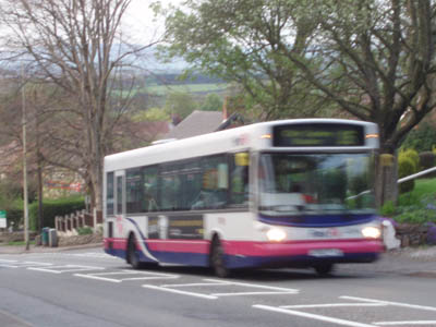 First Bus, Leek via Cheddleton