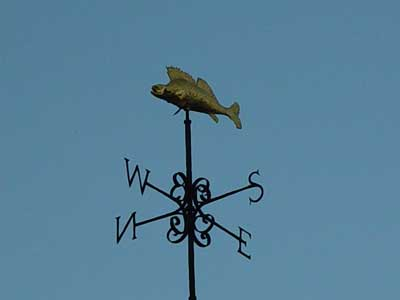 A fish vane at Bradford on Avon