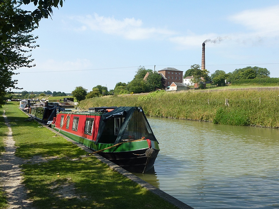 View from Canal to Crofton pumping station