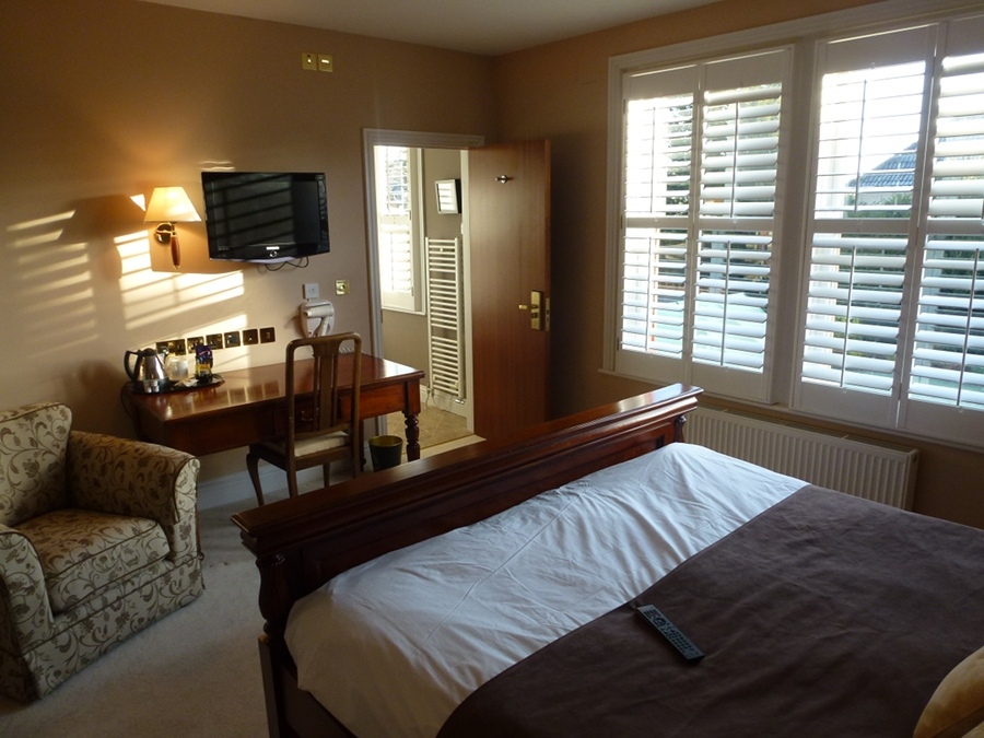 Bedroom in our Melksham Hotel