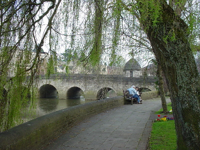 The town bridge and old lockup