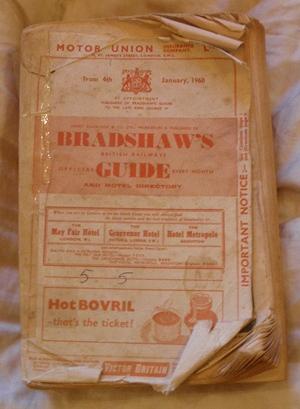 Dradshaw Railway Guide, 1960