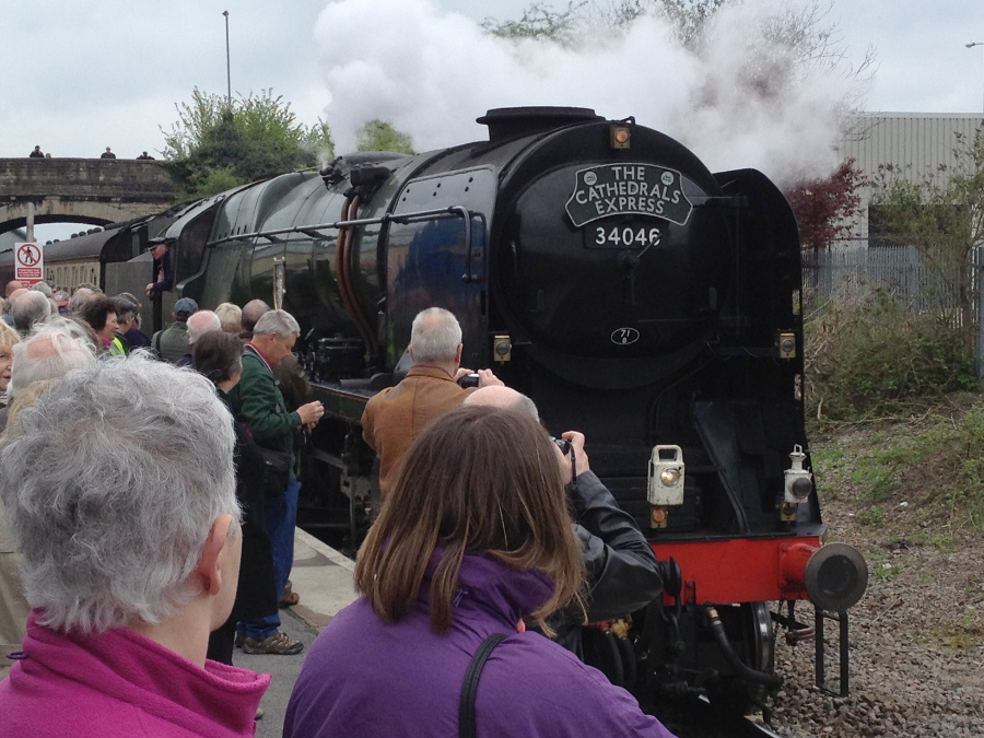 Braunton draws into Melksham - special to Stratford-upon-Avon