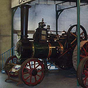 Steam Traction Engine at Bressingham
