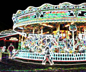 Gallopers - ride at Bressingham