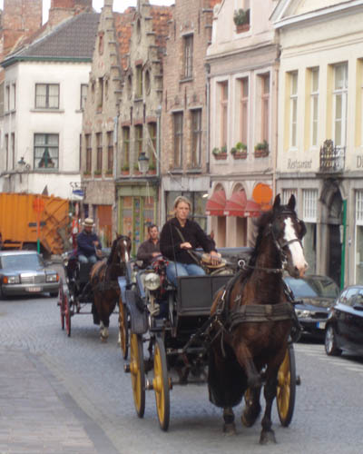 Horse and Carriage rides in Brugge