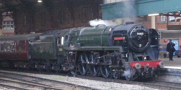 Steam Train at Bristol Temple Meads