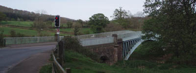 The Bridge over the river Wye