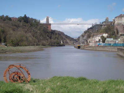 Clifton Bridge and Avon Gorge, Bristol