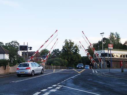 Brockenhurst Level Crossing