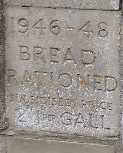 Price of bread in 1946-1948