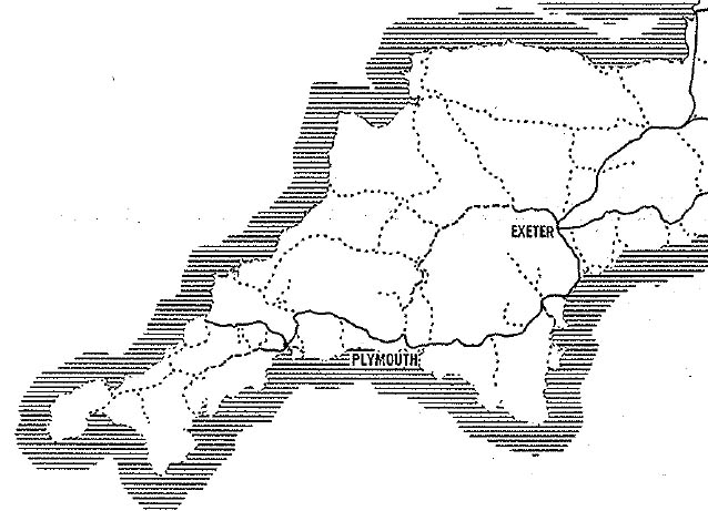 Rail Freight in South West England (1961)