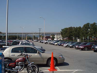 Station parking lot, Brunswick, Maryland