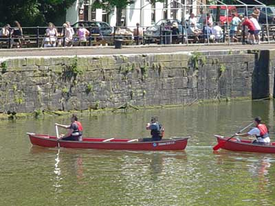Canoeing in Bristol