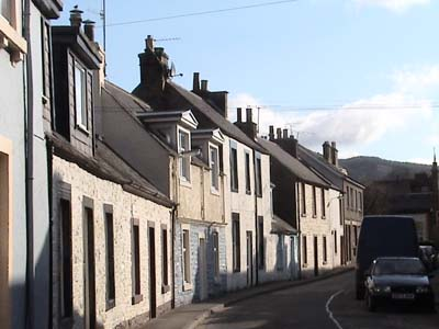 A back street in Moffat