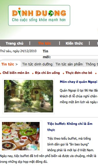 Our picture on a Vietnamese web site