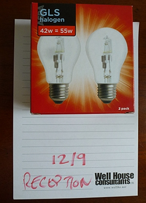 GLS Halogen bulbs
