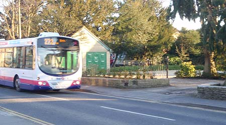 bus in Melksham