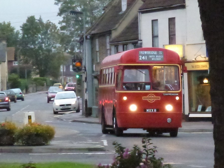 Single Deck Vintage London Bus in Melksham