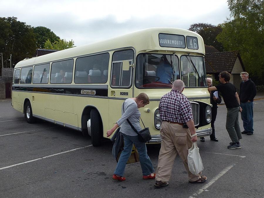 Crosville bs in Mere, Wiltshire