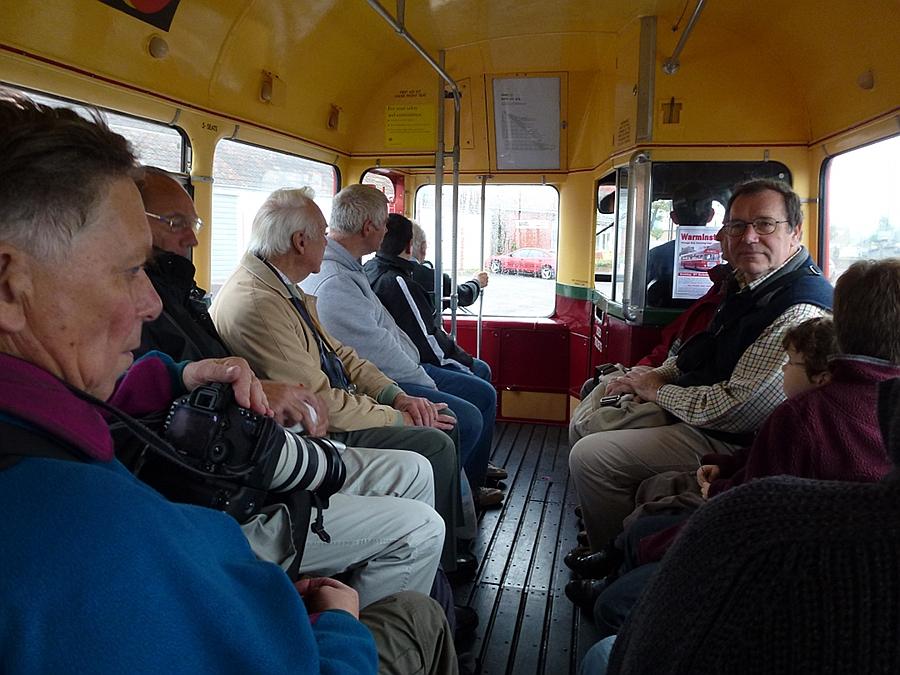 On the London Transport Single Decker
