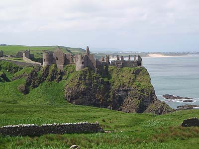 Castle on the North Antrim Coast