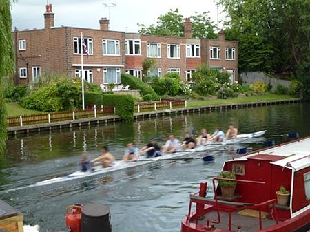 Rowers in Cambridge