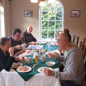Breakfast at Well House Manor