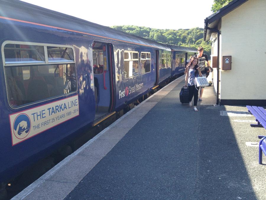 At Looe Station