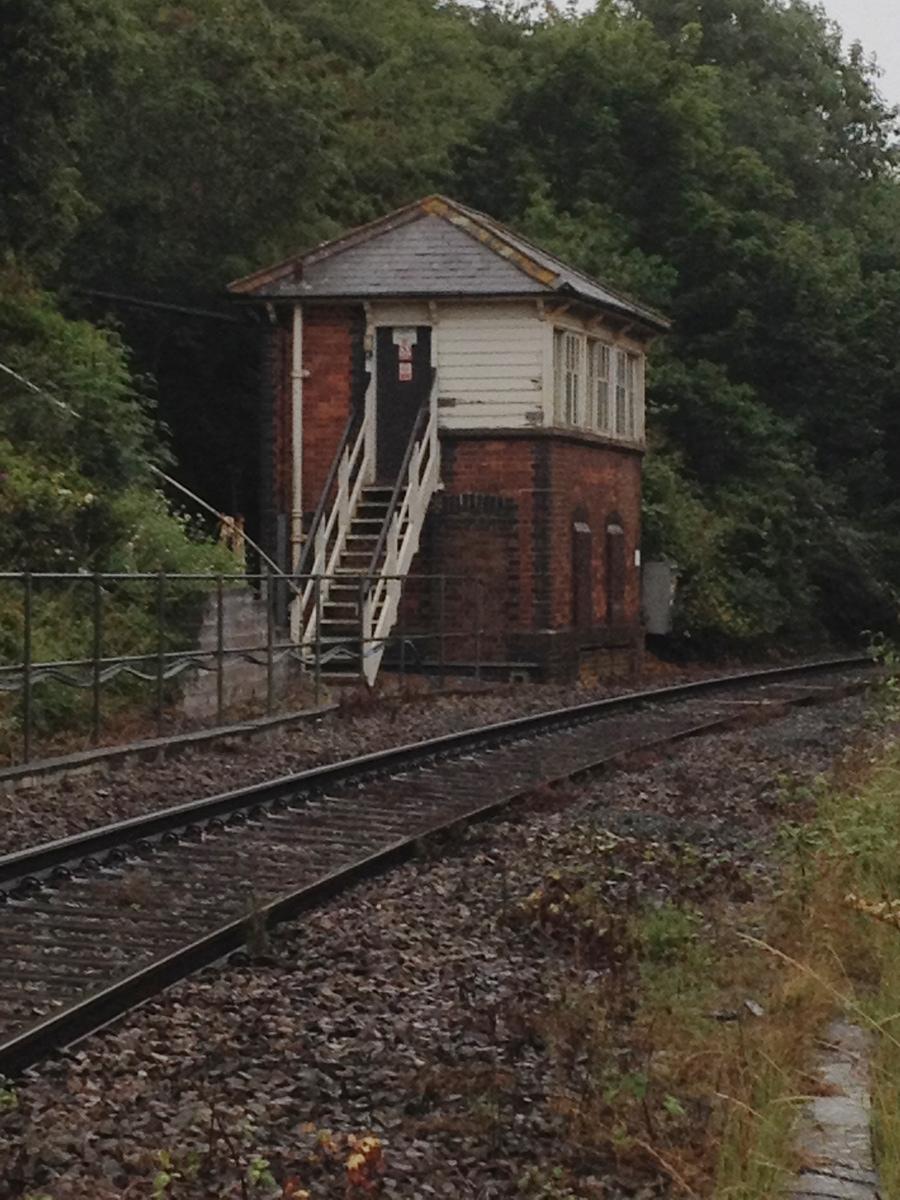 Signal box for Royal Albert Bridge, St Budeaux to Saltash