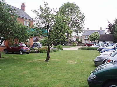 Over 20 cars at Well House Manor