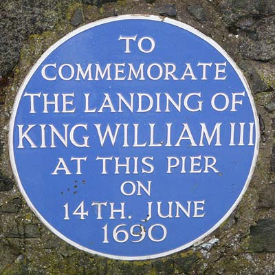 King William III landed here