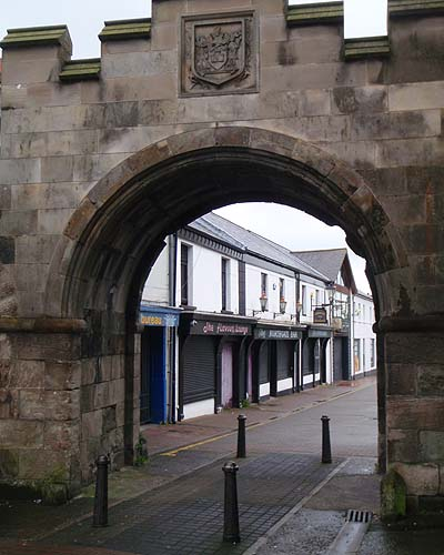 Carrickfergus Town Gate