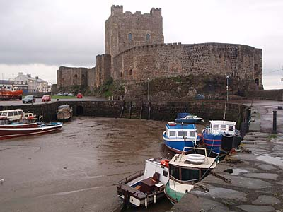 Carrickfergus Castle and Harbor