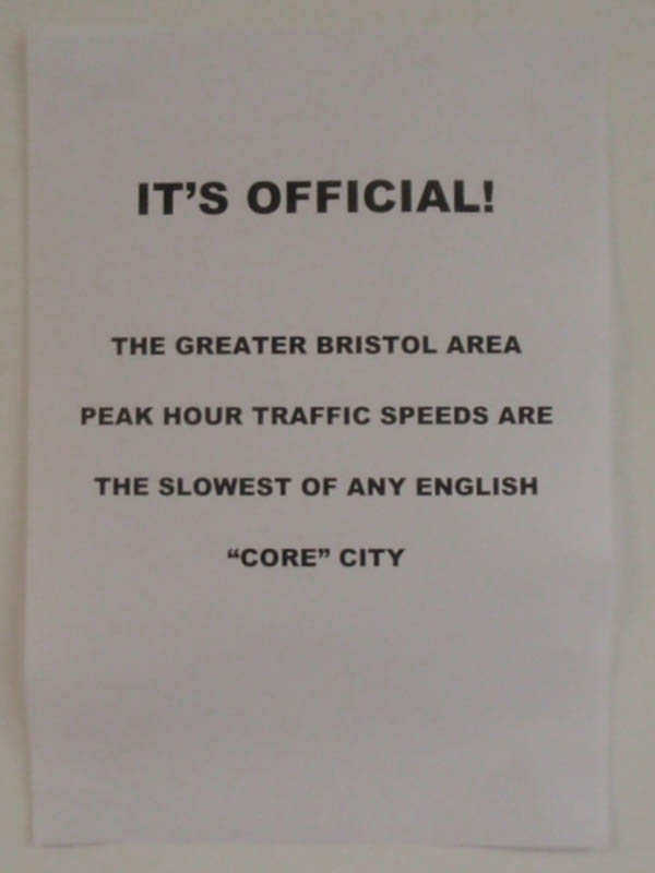 Bristol is a slow city
