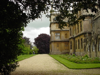 Corsham Court - rear of house