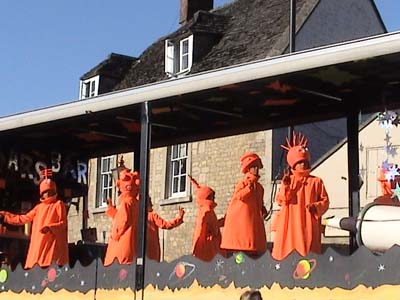 Float, Melksham Carnival