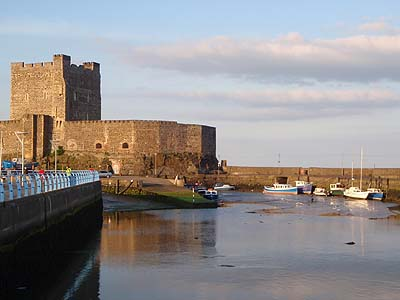 Castle and Harbor, Carrickfergus