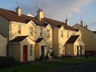Houses near the Marina, Carrickfergus