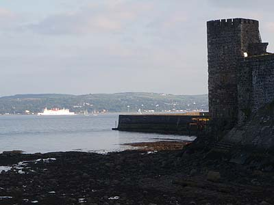 Castle and Lough, Carrickfergus