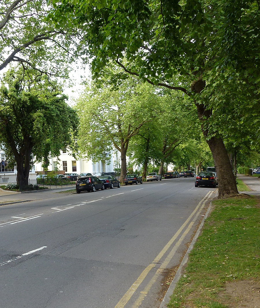 A Street in Cheltenham