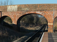 Charlbury Station - space for a second track