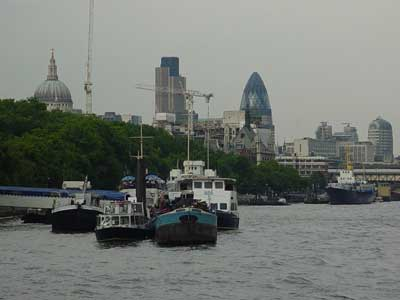 The City of London from the Thames