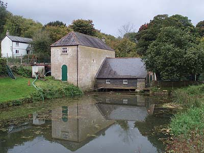 The pump building at Claverton Pump
