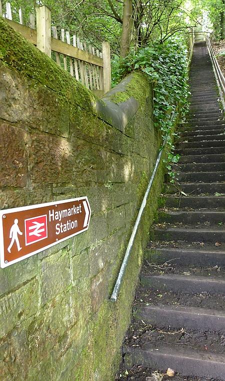 Climb to Haymarket