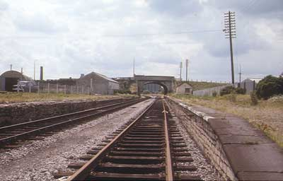 Melksham Station while it was closed - 1966 - 1985