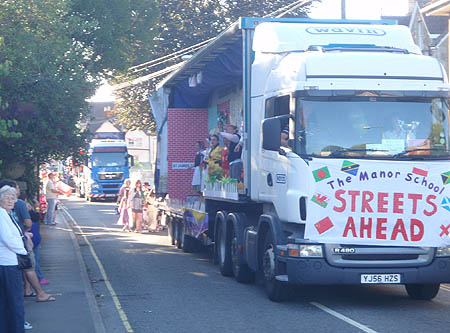 Manor School float