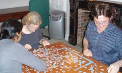 Doing a jigsaw