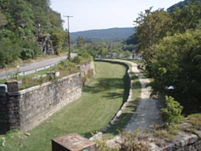 Chesapeake and Ohio Canal at Harpers Ferry