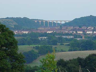 A Railway viaduct near Consett